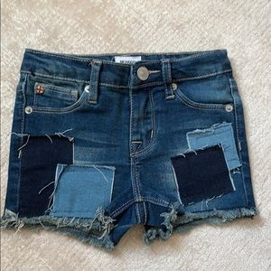 Hudson girls denim shorts size 2T